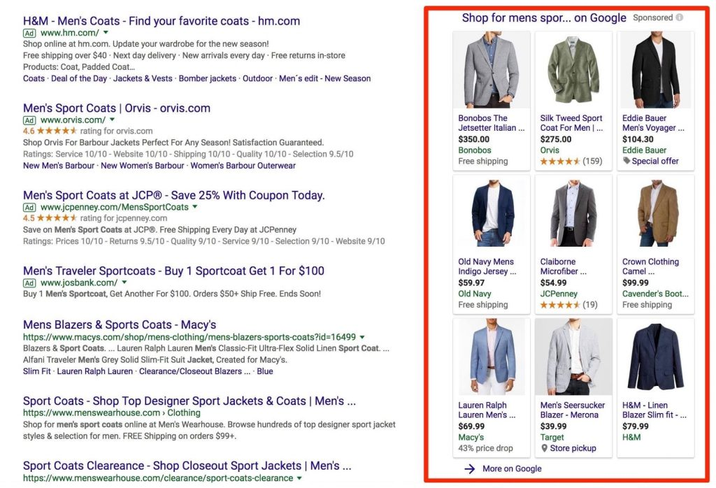 google shopping guide 1